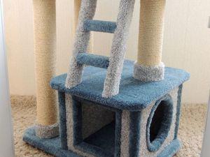 Срочная распродажа готовых комплексов для кошек по очень низким ценам! 2 ковролиновых комплекса!. Ярмарка Мастеров - ручная работа, handmade.