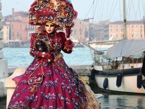 Утонченный, изысканный, мистический: Венецианский карнавал. Ярмарка Мастеров - ручная работа, handmade.