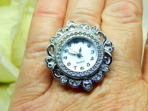 Кольцо часы. Ярмарка Мастеров - ручная работа, handmade.