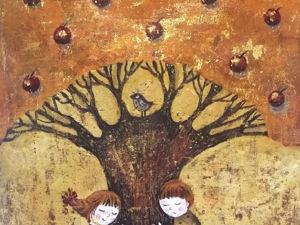 Когда деревья были большие. Ярмарка Мастеров - ручная работа, handmade.