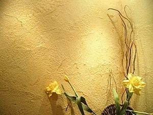 Делаем фактурную стену из шпаклёвки-краски и декора. Ярмарка Мастеров - ручная работа, handmade.