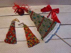 Мастерим елочку для новогоднего декора. Ярмарка Мастеров - ручная работа, handmade.