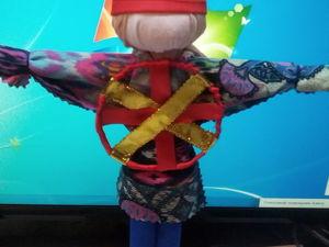 Славянская обрядовая кукла Спиридон — Солнцеворот. Ярмарка Мастеров - ручная работа, handmade.