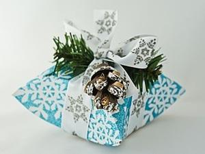 МК: Новогодняя коробочка или Зимнее чудо. Ярмарка Мастеров - ручная работа, handmade.