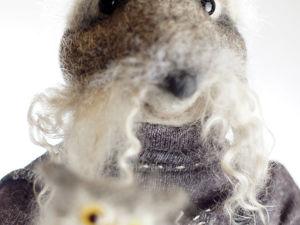 Крыса с совами в магазине. Ярмарка Мастеров - ручная работа, handmade.