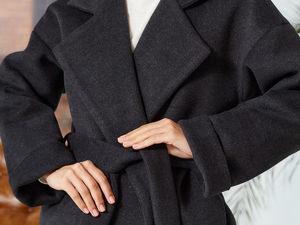 Распродажа зимнего пальто. Ярмарка Мастеров - ручная работа, handmade.
