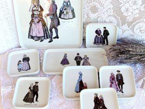 Рассказ старого сервиза Villeroy&Boch о традиционных костюмах Нидерландов. Ярмарка Мастеров - ручная работа, handmade.