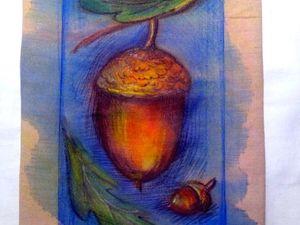 Мастер-класс по росписи ткани акварелью. Ярмарка Мастеров - ручная работа, handmade.