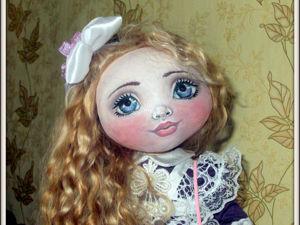 Кукла Школьница. Ярмарка Мастеров - ручная работа, handmade.