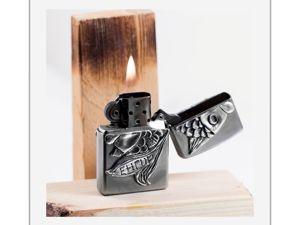 Декор зажигалки теперь уже серебром. Ярмарка Мастеров - ручная работа, handmade.