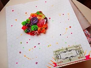 Мастерим бумажную коробку «Сад». Ярмарка Мастеров - ручная работа, handmade.