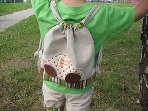 Как сшить детский рюкзак. Ярмарка Мастеров - ручная работа, handmade.