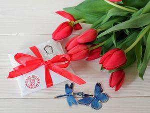 Поздравляем с 8 Марта. Ярмарка Мастеров - ручная работа, handmade.