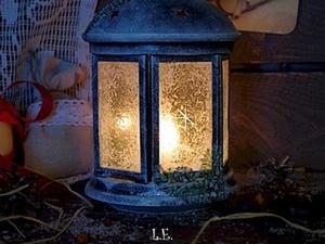 """""""Фактурное матирование стекла, имитация снега и инея"""". Ярмарка Мастеров - ручная работа, handmade."""