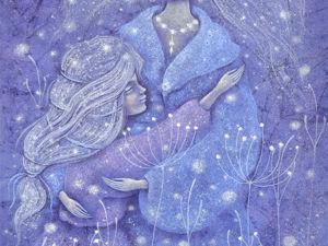 Звезды в твоих волосах... Пересылка  В ПОДАРОК!. Ярмарка Мастеров - ручная работа, handmade.