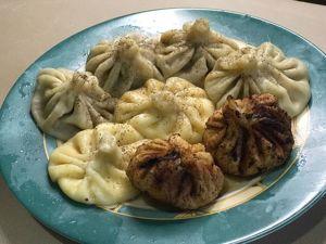 Хинкали  с мясом и сыром. Ярмарка Мастеров - ручная работа, handmade.