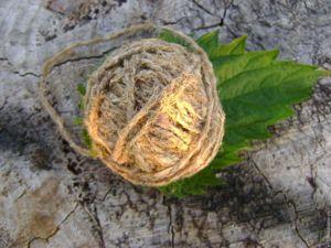 Таинственная крапива и свойства пряжи из нее. Ярмарка Мастеров - ручная работа, handmade.