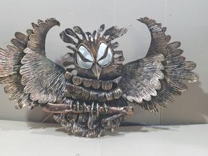 Фонарь сова(ковка). Ярмарка Мастеров - ручная работа, handmade.