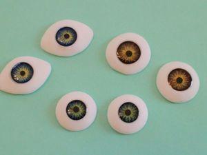 Видео мастер - класс: реалистичные глаза для кукол своими руками. Ярмарка Мастеров - ручная работа, handmade.