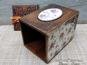 Короб для сыпучих продуктов, для сладостей. Ярмарка Мастеров - ручная работа, handmade.