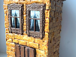 Making Miniature Cardboard House With Your Own Hands. Livemaster - handmade