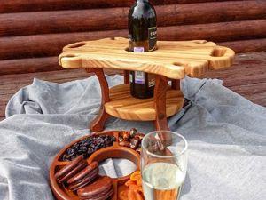 Винные столики--. Ярмарка Мастеров - ручная работа, handmade.