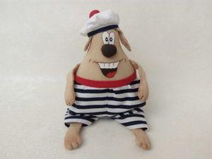 Шьем веселую собачку — символ Нового года. Ярмарка Мастеров - ручная работа, handmade.