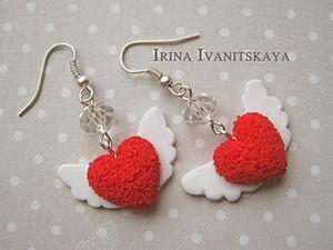 How to Model DIY Heart Earrings. Livemaster - handmade