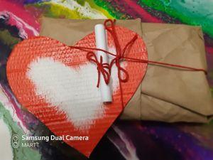 Идея оформления подарка. Ярмарка Мастеров - ручная работа, handmade.