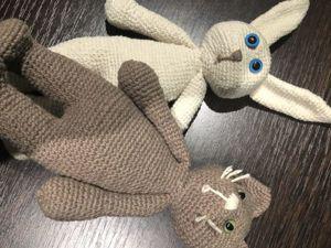 Вяжем крючком зайку и котика амигуруми. Одна схема — две игрушки. Ярмарка Мастеров - ручная работа, handmade.