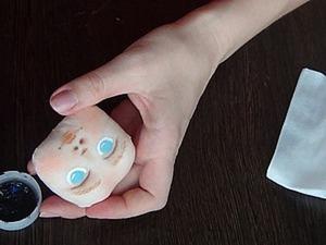 Расписываем личико текстильной куклы. Ярмарка Мастеров - ручная работа, handmade.
