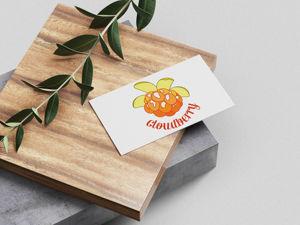 Спелый ягодный логотип. Ярмарка Мастеров - ручная работа, handmade.