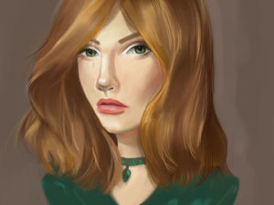 Как нарисовать цифровой портрет?. Ярмарка Мастеров - ручная работа, handmade.