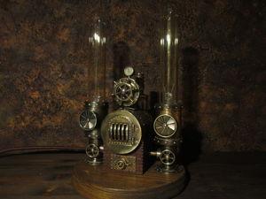 Работа диммера лампы  «Паровой котёл». Ярмарка Мастеров - ручная работа, handmade.