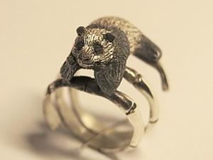 Изготовление кольца в виде Панды. Ярмарка Мастеров - ручная работа, handmade.