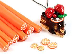 Шоколадный торт и апельсиновая колбаса. Ярмарка Мастеров - ручная работа, handmade.