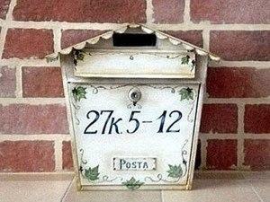 Декорирование почтового ящика. Ярмарка Мастеров - ручная работа, handmade.