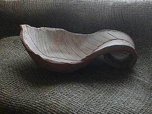 Мастерим братину в форме листика. Ярмарка Мастеров - ручная работа, handmade.