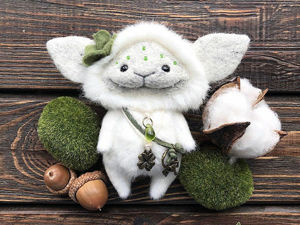 Woolboon World: Charming Trolls, Fairies and Elves You Wish To Meet At Night In Woods. Livemaster - handmade