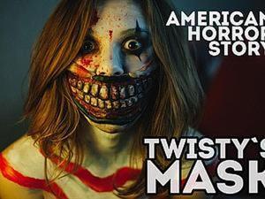 """Видео мастер-класс: маска Твисти из """"Американской истории ужасов"""". Ярмарка Мастеров - ручная работа, handmade."""