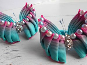 Video Tutorial: Beautiful Ribbon Bows. Livemaster - handmade