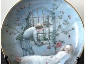 Коллекционные настенные тарелки по сюжетам скандинавских сказок. Ярмарка Мастеров - ручная работа, handmade.