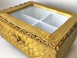 Мастерим шкатулку из картона своими руками. Ярмарка Мастеров - ручная работа, handmade.