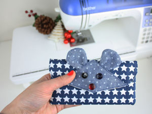 Sew Purse In Shape Of Mouse. Livemaster - handmade