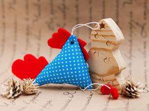 Шьем текстильного петушка. Ярмарка Мастеров - ручная работа, handmade.