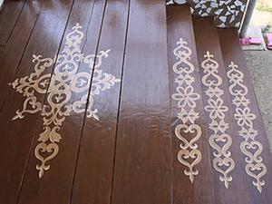 Расписываем старое крылечко. Ярмарка Мастеров - ручная работа, handmade.