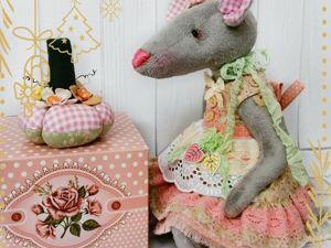 Крыска Ванилька — символ 2020 года. Ярмарка Мастеров - ручная работа, handmade.