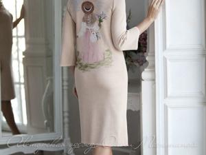 Аукцион на Вязаное платье! Старт 4000 р.!. Ярмарка Мастеров - ручная работа, handmade.