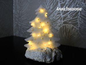 Создаем новогодние елочки из потолочной плитки и бумаги!. Ярмарка Мастеров - ручная работа, handmade.