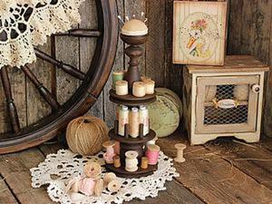 Как сделать «старинный» швейный набор. Ярмарка Мастеров - ручная работа, handmade.